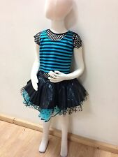 Girls New Never Worn Ballet Jazz Competition Pageant Dress Up Costume Chil Large