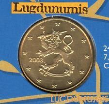 Finlande 2003 50 Centimes Euro BU FDC provenant coffret 175000 exemplaires