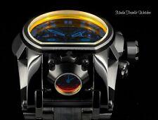 Invicta Reserve 52mm Bolt Zeus TINTED CRYSTAL BLACK MAGNUM Dual Movement Watch!