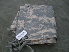 """US Army USGI Field Tarpaulin ACU / Sand Reversible 92"""" x 82"""" Tarp New w/ tag"""