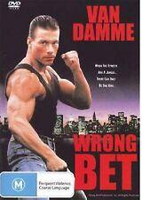Wrong Bet aka Lionheart - Region 2 Compatible DVD (UK seller!!!) Jean-Claude NEW
