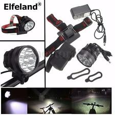 Elfeland 20000lumen 7x T6 MTB Mountain Bike Bicycle Cycling Light Headlamp