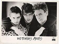 LOS TOREROS MUERTOS 1987 Fotografía Promocional Original Foto 23x18 cm