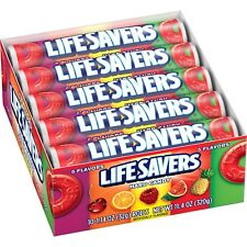 Lifesavers 5 Flavors Hard Candies Candy Rolls 2 x 20 = 40 pack in Total