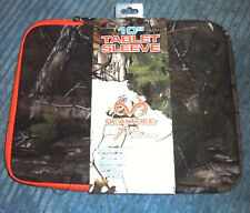 """Green Camo 10"""" Apple iPad & Android Tablet Sleeve/Case/Cover by RealTree NEW"""