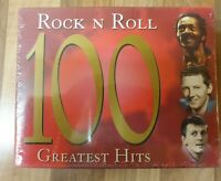 ROCK N ROLL RARE 100 GREATEST HITS CASSETTES STILL SEALED