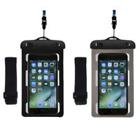 Universal Waterproof Underwater Neck Armband Dry Pouch Bag Case For Mobile Phone