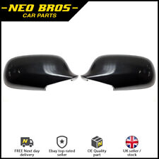 Pair Door Wing Mirror Casing Covers Left & Right for Saab 9-3 03-09 & 9-5 03-09