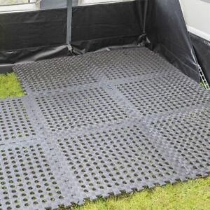 Camping Vorzelt Pool Puzzlematte Unterlegmatte Fliesen Zeltboden Teppich gelocht