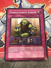 Carte YU GI OH VENDEUR GOBELIN AGRESSIF FOTB-FR056 x 3