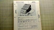 Chevrolet Car Auto Radio Radio Model 985792 Sams Photofacts Folder