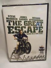 The Great Escape (Dvd) Steve McQueen, James Garner, Richard Attenborough New