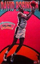 1997 David Robinson San Antonio Spurs Original Starline Poster OOP