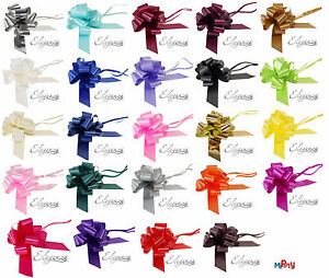 50mm Pull Bows: Wedding, Cars, Pew Ends, Birthday Party, Florist, Ribbons