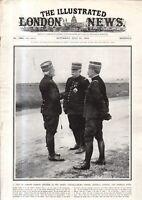 1915 London News July 31 - Australian Heroes; Alsace retaken; Road to Warsaw