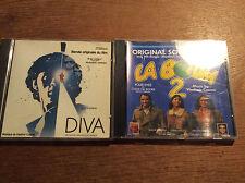 Vladimir Cosma [ 2 CD Alben SOUNDTRACK ] La Boum 2 + DIVA