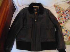 US WINGS DWCNO.30-1415 Signature A-2 Goatskin Leather Bomber Jacket L USA $549
