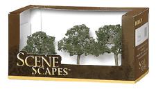 """Bachmann Ho Scale Train Scenescapes 2""""- 3"""" Walnut Trees (3 Per Box) 32007"""