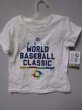 Majestic 2017 World Baseball Classic White Toddler T-Shirt Size 3T