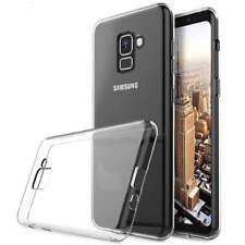 Funda de TPU de silicona Transparente para Samsung Galaxy A6 Plus