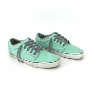 Vans UltraCush HD TB4R Men's 13 US Skate Board Shoes Mint Green VN-0U0G9LQ men
