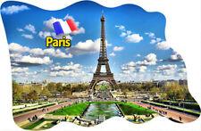 Paris Frankreich Eiffelturm Fridge Magnet Flagge Fahne Epoxid Reise Souvenir