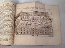 Basil Kennett - Antiquities of Rome - 1754 Innys and Knapton, Folding Plates