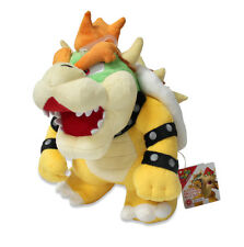 "Authentic  10"" Bowser Stuffed Plush Sanei AC10 Super Mario All Star Series"