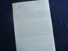 New Listing1976 Dr. Anders K. Angstrom (Physicist,Inventor,Ballo onist) Signed Long letter!