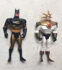 "BATMAN & Aztec 5"" JUSTICE LEAGUE Figure DC Comics Supereroe SERIE ANIMATE AUTO"