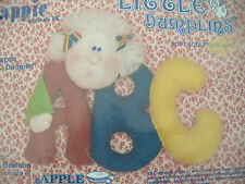 KAPPIE ORIGINALS SOFT SCULPTURE SEWING KIT-LITTLE DUMPLINS-APPLE DUMPLINS-ABC