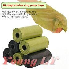 15/30/60/120 Hi Quality EPI Biodegradable Dog Cat Waste Poop Poo BagsGarbage Bag
