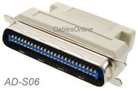 HPDB50 SCSI-2 Female to CN50 Male SCSI-1 Adapter, CablesOnline AD-S06