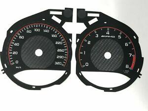 Mercedes-Benz W205 C63 AMG speedometer dial 320km/h New design
