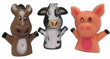Farm Animal Finger Puppets - Set of 12 Mini Finger Puppets