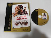 DOCTOR ZHIVAGO DVD + LIBRO 57 PAG EDICION ESPECIAL ESPAÑOL ENGLISH REGION 2