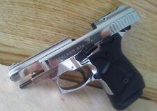 ZORAKI 914 9mm  F-V CHROME SEMI-FULL-AUTO  REPLICA PROP GUN  TRAINING AID