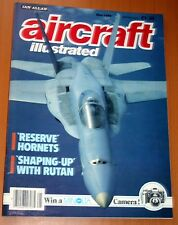 Aircraft Illustrated 1988 May Orion Airways,HS-817,Buccaneer,Optica,RF-84F,F/A18