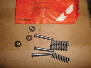 LUCAS HEADLIGHT TRIMMER SCREW KIT LUCAS 700 TYPE 60600622 N.O.S.