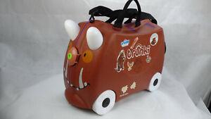Trunki Gruffalo Monster Childrens Kids Suitcase Flight Cabin Size Pull Allong
