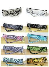 10 Piece Wholesale Lot Cotton Yoga Mat Carrier Bags With Shoulder Strap Throw Us