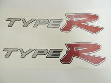 Honda Civic EP3 Type R Glitter Red x2 Side Panel Stickers Decals K20 -LIGHT CARS