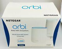 NETGEAR RBK20W-100NAS Orbi AC2200 Tri-Band Wi-Fi System In Box Good Shape