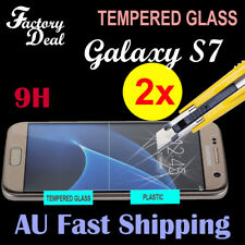2x Tempered Glass Film Screen Protector for Samsung Galaxy S7 S 7
