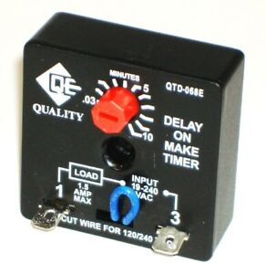 RELAY,TIME DELAY  QTD-068E