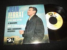 """JEAN FERRAT<>C'EST BEAU LA VIE <>RARE 7"""" Vinyl~France Pressing~BARCLAY 70.613M"""