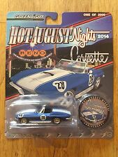 Greenlight 1967 Corvette Blue/White 1 of 2000