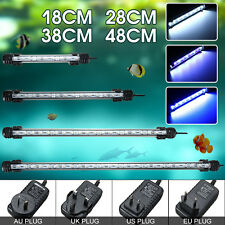 Acuario Sumergible Impermeable 18-48cm Luz LED Luz de Tubo de Barra de tanques de peces