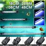 18-48cm Impermeabile Sommergibile Acquario Luce LED Vasca Barretta Tubo