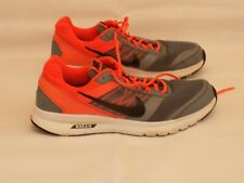 Nike Air Relentless 5 Trainers Size UK 10 EU 45 - Running/Gym Black/Orange/Grey